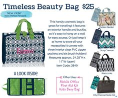 Shop Online: www.mythirtyone.com/sarahotto Be a VIP * www.facebook.com/groups/ToteAllyFUNctionalBagsWithSarah