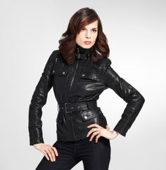 one can never have too many black leather jackets