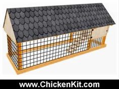 http://www.ChickenKit.com Building a chicken coop? Discover over 100+ Step-by-Step Printable DIY Plans to Building an Attractive & Affordable Long Lasting Predator-Safe Chicken Coop That Your Chickens Love. Just go to: http://www.ChickenKit.com