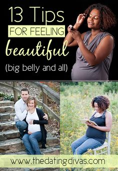 AWESOME ideas for feeling pretty while preggers!
