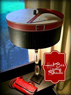 Hat Box Lamp Shade