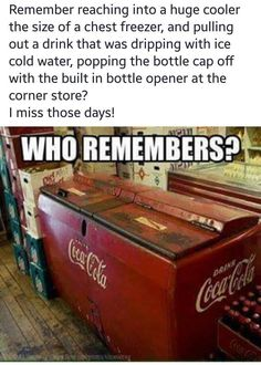 Old School Coke Machine