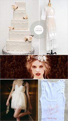 Sweet Treats + Vintage Wedding Cake