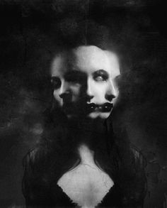 Hekate not sure who the artist or model is. i'll call her Trivia, or Hecate Triformis Photo D Art, Foto Art, Arte Horror, Horror Art, Horror Movies, Art Noir, Yennefer Of Vengerberg, Dark Photography, Macabre Photography