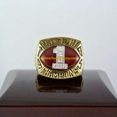 1985 Oklahoma Sooners Football National Championship Ring