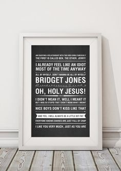 Quirky quotes from the hit TV show - Perfect gift! You will receive a beautiful high quality, vibrant print on speciality glossy Sheldon Cooper Quotes, Christmas Vacation Quotes, Friends Tv Quotes, Wall Art Prints, Poster Prints, Poster Frames, Diary Quotes, Derek Shepherd, Star Wars Quotes
