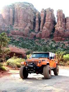 Just got back four wheeling in Moab. Half way into the canyons we passed a tow truck towing a SUV that had dropped off the road or rock.That doesn't exactly give you confidence when you see that when your headed to drive the rocks and hills but we charged on and conquered the road anyway! Exciting!! Kathy