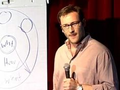 Perfect for explaining how yearbook should work, will definitely be using this in class. Simon Sinek: How great leaders inspire action: TED TALKS: documentary,le...