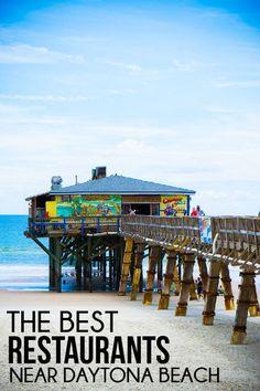 11 of the best Daytona Beach restaurants! Great restaurants in Daytona Beach for breakfast, lunch, dinner, dessert, and even donuts!