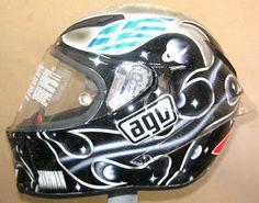 Hand Painted AGV Kart Helmet #137 ~ Hand Painted Helmets - Design your helmet today..!!