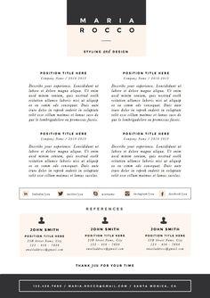 3pk resume cv template cover letter for door theresumeboutique - Template Cover Letter For Resume