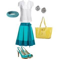 turquoise dressy