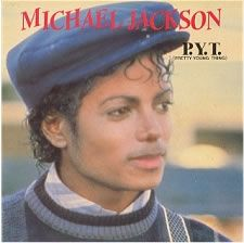 """For Sale - Michael Jackson P.Y.T. Netherlands  7"""" vinyl single (7 inch record) - See this and 250,000 other rare & vintage vinyl records, singles, LPs & CDs at http://eil.com"""