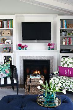 IHeart Organizing: One Room Challenge Week 6 - IHeart Living Room Reveal!