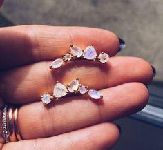 stone crawler earrings