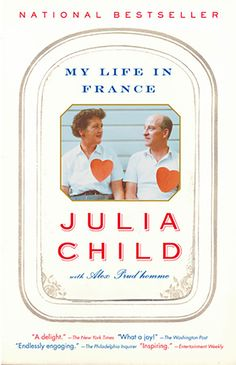 "In My Life In France, Julia Child shares stories of her experiences in Paris and Marseille, her half-century-long marriage, and her culinary rise. As she writes in the introduction: ""This is a book about some of the things I have loved most in my life."" Books to Inspire Your Next Trip to France - Condé Nast Traveler"