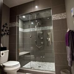 Find ideas and inspiration for Basement Bathroom to add to your own home.Basement bathroom ideas, Small bathroom ideas and Small master bathroom ideas. Small Basement Bathroom, Bathroom Renos, Laundry In Bathroom, Bathroom Layout, Bathroom Colors, Bathroom Flooring, Bathroom Plumbing, Colorful Bathroom, Gray Bathrooms
