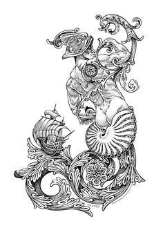 MitoQuillo 5, #Dibujos e #Ilustraciones #Illustrations de Tony Carbonell #Cadiz