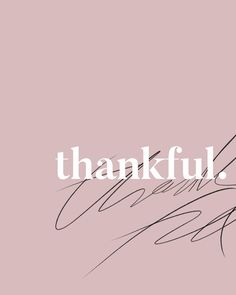 Letters | Thankful #lettering #blush