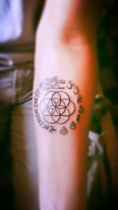 Dacian Wolf, Chakras and Flower Of Live