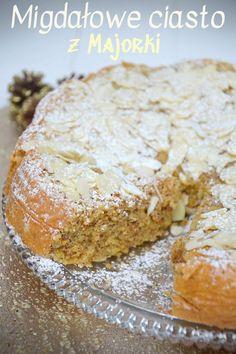 Migdałowe ciasto z Majorki Banana Bread, Cooking Recipes, Recipes
