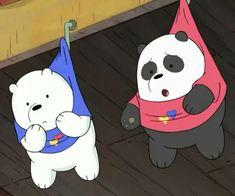 — we bare bears. Ice Bear We Bare Bears, 3 Bears, Cute Bears, Bear Wallpaper, Wallpaper Iphone Cute, Disney Wallpaper, Bear Cartoon, Cartoon Icons, Cartoon Network