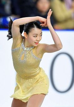 Rika Kihira 紀平梨花⛸ Ice Girls, Girls Golf, Kim Yuna, Ice Skating, Figure Skating, Medvedeva, Beautiful Athletes, Women Figure, Sports Stars