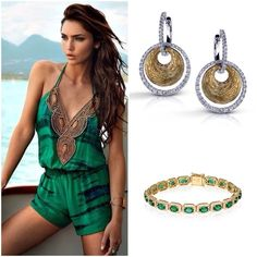 Which Simon G accessory would you choose to go with this summer ensemble? #EverydayStyle