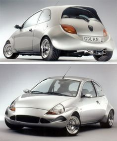 Colani Bodykit For Ford Ka Car Tuning Small Cars Transportation Design Luigi