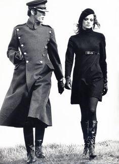 ©Helmut Newton Vogue. London, 1967
