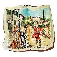 Handmade Home Décor CERAMICHE D'ARTE PARRINI - Italian Ceramic Book Figurine Art…