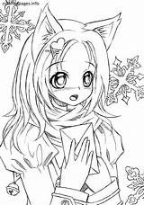 Gacha Life Coloring Pages Lineart En 2020 Gatito Para Colorear