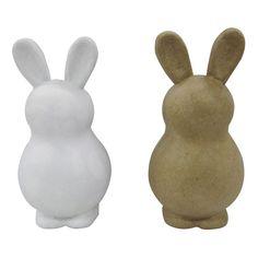 Easter Large Bunny Base - Spritz, White