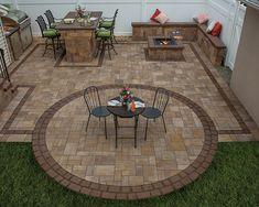 this arrangement for hot tub relative to pergola/patio?