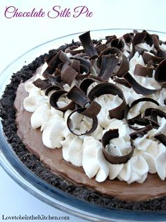 The Perfect Chocolate Pie! Smooth, creamy and thick you will be in chocolate pie heaven with every bite! I LOVE chocolate pie!!  Growing up it was the only pie I would eat.  Now I like most pies but if chocolate pie is an option there is no question that is the piece of pie I... Read More »