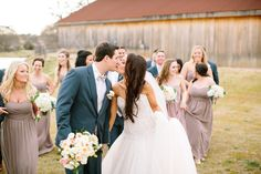 Silver & Lace vintage barn wedding  photo by The Tarnos, Silver & pearls by Rent My Dust