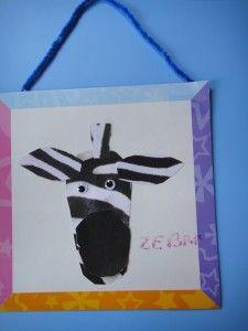 zebra  craft  from healthymamainfo.com