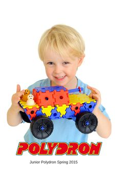 #Junior #Polydron is made from super durable polypropylene and designed to allow the easy construction of thousands of exciting models such as cars, planes and other fun models. The fantastic soft-touch wheels are easily pushed onto the product to create cool vehicles. Children will develop an understanding of how things work. They will learn how to grab, pull and push their #models, which helps with their #co-ordination and synchronises movement.  Age 3+. Great for #Earlyyears!