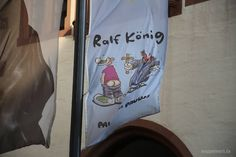 """Die Ausstellung """"Ralf König - Paul versus Paulus"""" läuft noch bis zum 3. August im caricatura museum. Hinkommen!  Foto: Moppel Frett-Wehnemann"""
