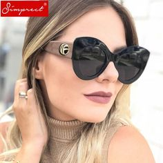 55b587318 Cat Eye Frames, Italian Sunglasses, Big Sunglasses, Oversized Sunglasses,  Black Cat Eyes
