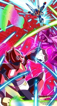 Commission: Megaman X5 - Non Canon Scenario by innovator123.deviantart.com on @DeviantArt