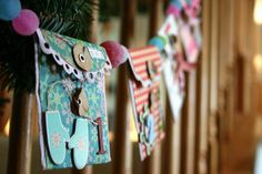 The 25 Days of Giving~Envelope Christmas Countdown Advent Banner