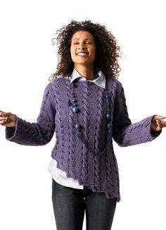 Tierra Berroco  Resembles Aran Irish knit pattern