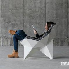 Ukraine-based Zbroy Svyatoslav and Dmitry Bulgakov of design studioODESD2 have created the Q1 lounge chair.