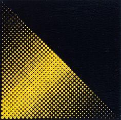 Almir Mavignier, Sem titulo, 1967, óleo sobre tela