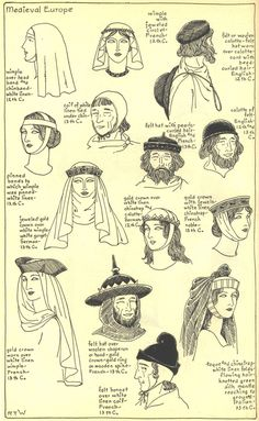 Para los interesados en la moda medieval