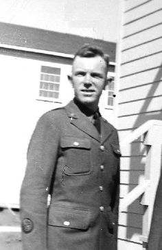 Bill Dempsey at Fort Sill, OK, where he began his career in Officer Candidate School.   He is wearing an OCS patch on his sleeve. After completion of school for artillery officers, he was assigned to the 328th Field Artillery at Camp Shelby, MS.  Later, he became battery commander.