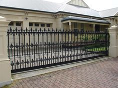 wrought iron fencing melbourne - Google Search