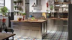 ikea kjøkken på hytte – Google Søk Ikea, Kitchen Island, Table, Furniture, Basement, Bar, Home Decor, Shopping, Island Kitchen