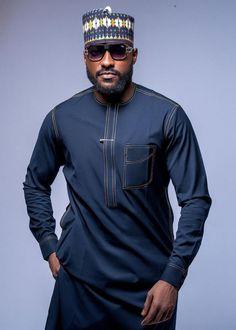 African Dresses Men, African Attire For Men, African Men, Man Dressing Style, Men Design, Man Style, Men Looks, Kaftan, Stitches